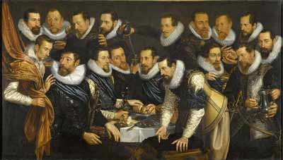 Officieren in Amsterdam 1613